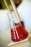 Chemistry bottle Royalty Free Stock Photography
