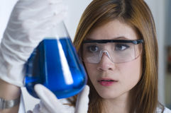 Chemistry class Stock Image