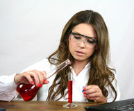 Chemistry Class Stock Photography