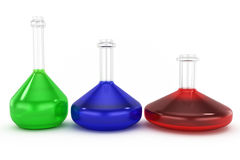 Chemistry concept Royalty Free Stock Image