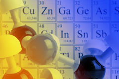 Chemistry concept Stock Photography