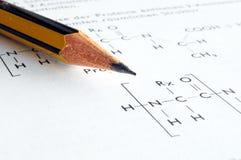 Chemistry education Royalty Free Stock Photo