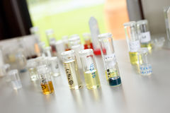Chemistry equipment Royalty Free Stock Images