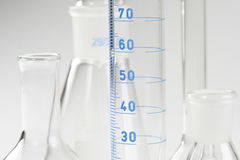 Chemistry equipments Royalty Free Stock Photography