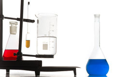 Chemistry experiment Royalty Free Stock Photography