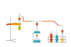 Chemistry Experiment Concept Royalty Free Stock Photography