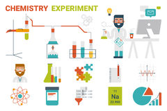 Chemistry Experiment Concept Stock Photography