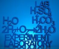 Chemistry formula background royalty free stock photos