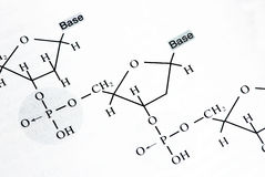 Chemistry formulas Stock Photography