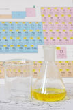 Chemistry glass Stock Photo