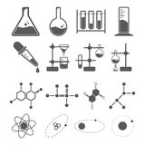 Chemistry icon concept stock illustration