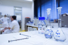 Chemistry lab Royalty Free Stock Photos