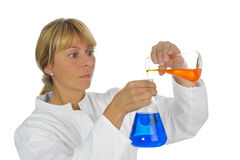Chemistry lab Royalty Free Stock Images