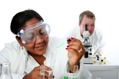 Chemistry Lab Royalty Free Stock Image