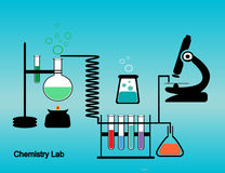 Chemistry lab Stock Photography
