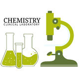 Chemistry Lab Elements Stock Photo