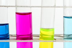 chemistry lab glassware equipment Stock Photography