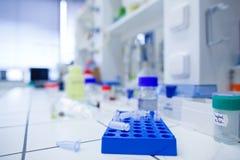 Chemistry lab (shallow DOF) royalty free stock photo