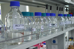A chemistry lab Stock Photography