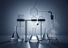 The Chemistry Lab royalty free illustration