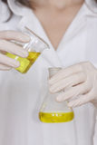 Chemistry - Lab Worker Royalty Free Stock Images