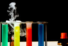 Chemistry laboratory Stock Photography