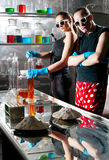 Chemistry laboratory Royalty Free Stock Photos