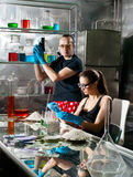 Chemistry laboratory Royalty Free Stock Photo