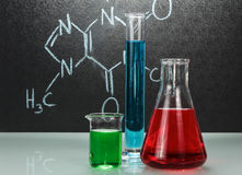 Chemistry laboratory Stock Images