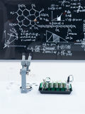 Chemistry laboratory set up Royalty Free Stock Photo