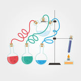 Chemistry laboratory Royalty Free Stock Image
