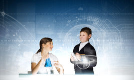Chemistry lesson Royalty Free Stock Image