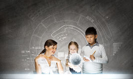 Chemistry lesson Royalty Free Stock Photography