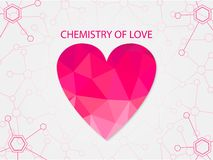 Chemistry of love Stock Photos