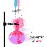Chemistry of Love Stock Photo