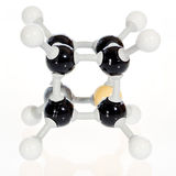 Chemistry molecule of the atom Cubane Stock Images
