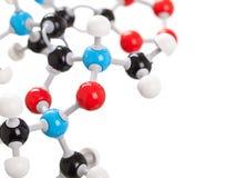 Chemistry molecule model Stock Photography