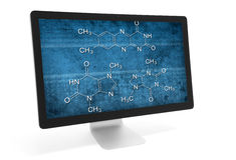Chemistry online Stock Image