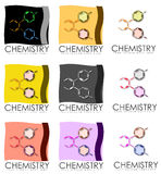 Chemistry posters Royalty Free Stock Photography
