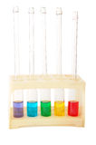 Chemistry rainbow Royalty Free Stock Images