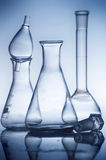 Chemistry recipient in a laboratory ambiance. A Chemistry recipient in a laboratory ambiance royalty free stock photography
