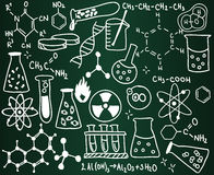 Chemistry school board Stock Photos
