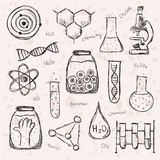 Chemistry Science Background vector illustration