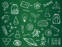 Chemistry Science Background Stock Photos