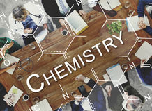 Chemistry Science Experiment Formula Concept Stock Photography