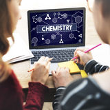 Chemistry Science Research Subject Education Concept.  Stock Photos