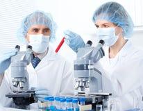 Free Chemistry. Science Team Stock Photo - 17822240