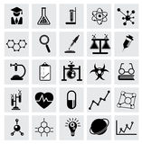 Chemistry and science vector icon Stock Photography