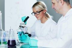 Chemistry Scientist Stock Photo