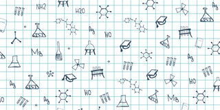 Chemistry subject. Back to School background. Education banner. Chemistry subject. Back to School background. Education banner Royalty Free Stock Image